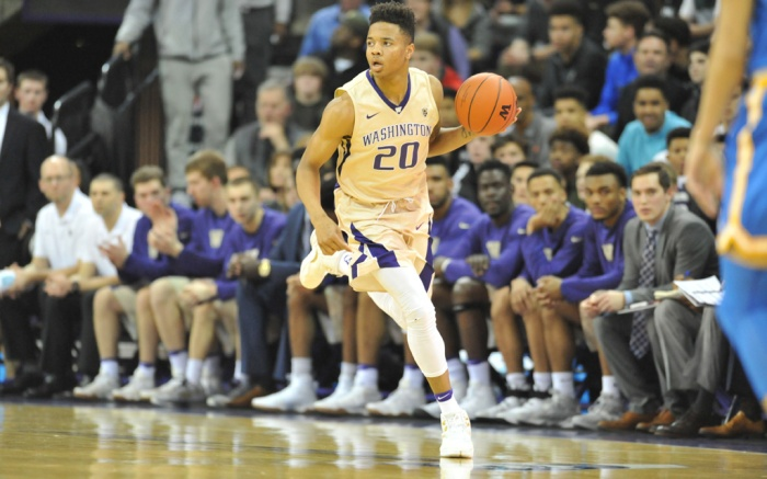Washington Huskies guard Markelle Fultz Air Jordan 12