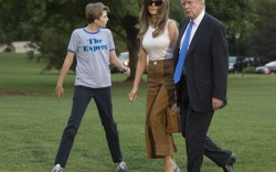 Melania and Barron Trump Move to the White House