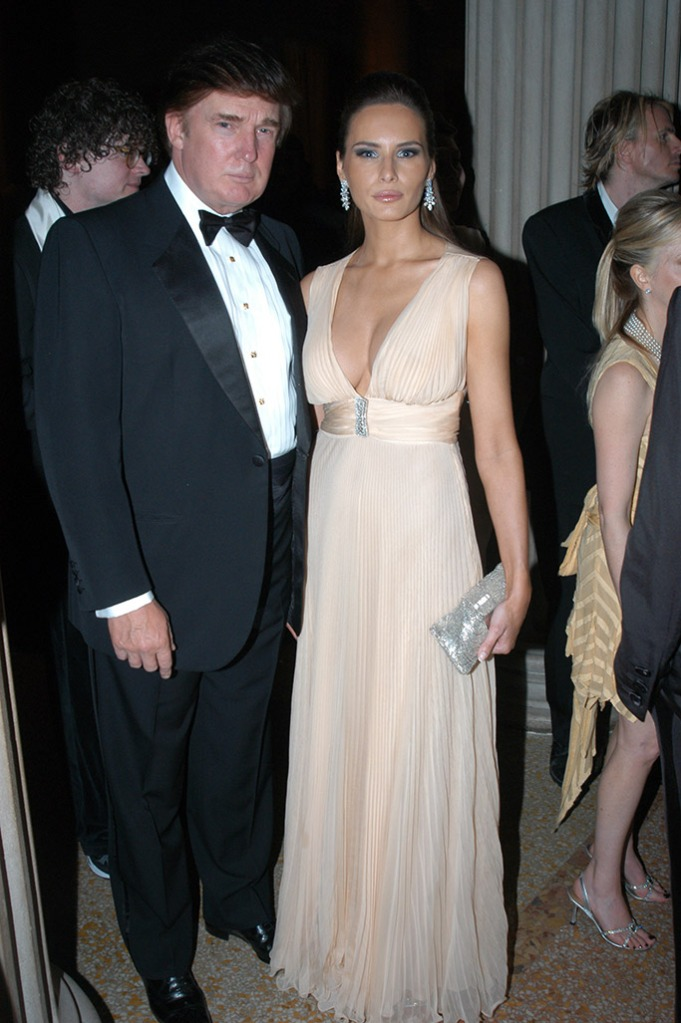 Melania Trump, Met Gala, 2003