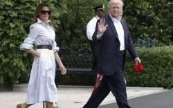 melania trump, president trump