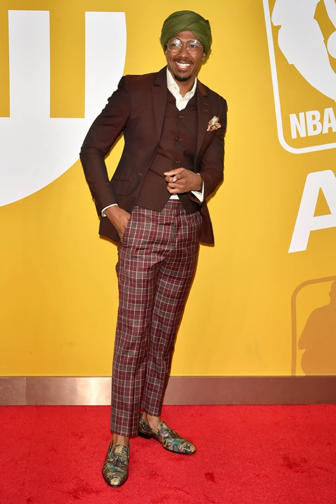 Nick Cannon, NBA Awards, red carpet