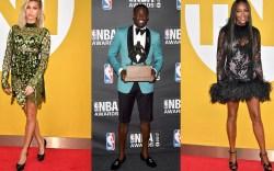 nba awards celebrity style