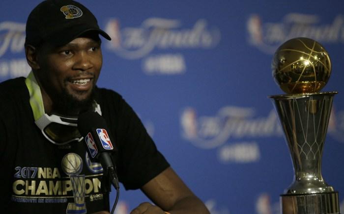 NBA Finals MVP Kevin Durant