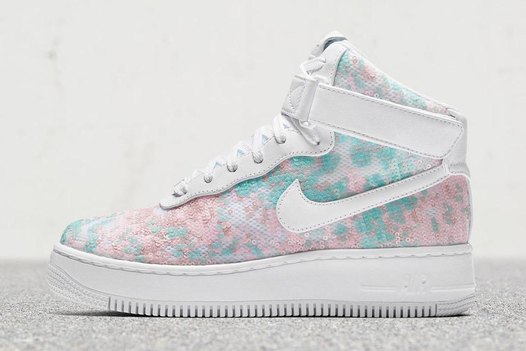 Nike Air Force 1 Upstep Hi LX Glass Slipper