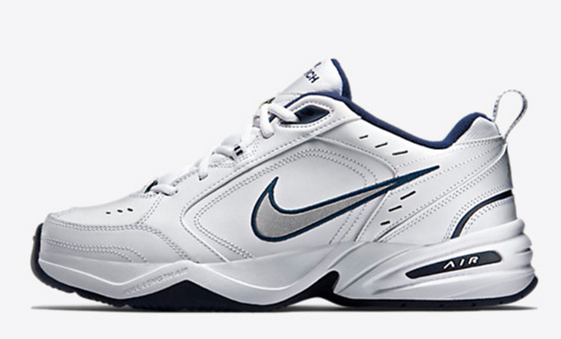 nike air monarch, dad shoes