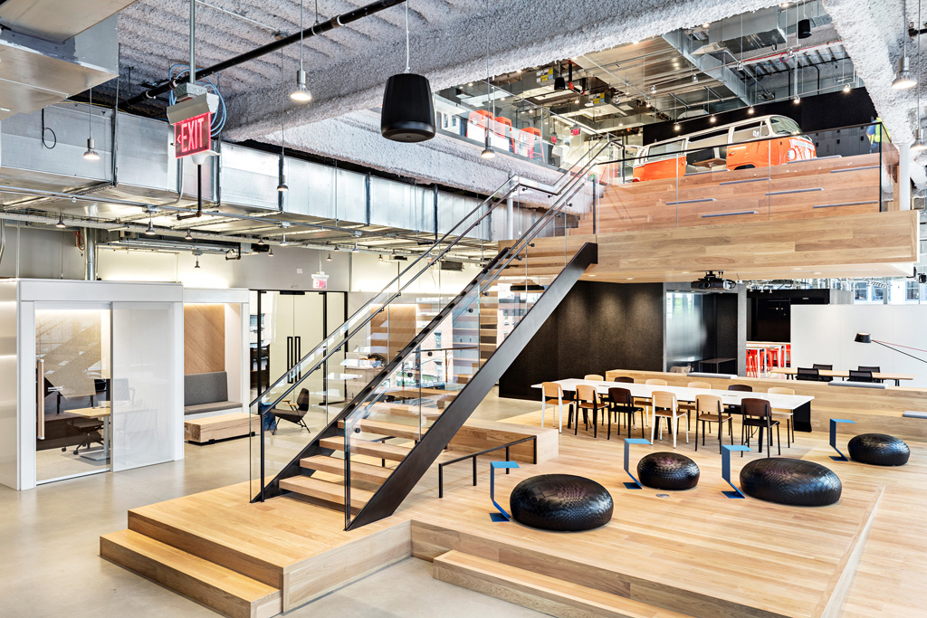 Swoosh Nike Headquarters NYC New York City