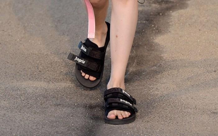 Palm Angels, sandals, Milan Fashion Week