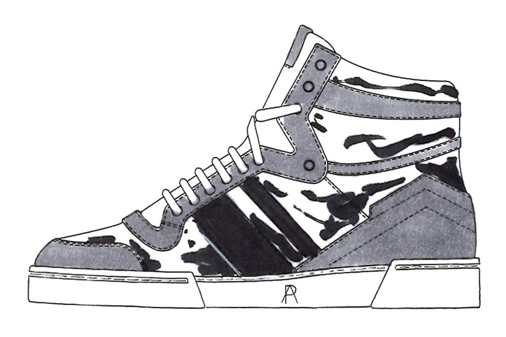 Paul Andrew Sneakers Ansel Elgort