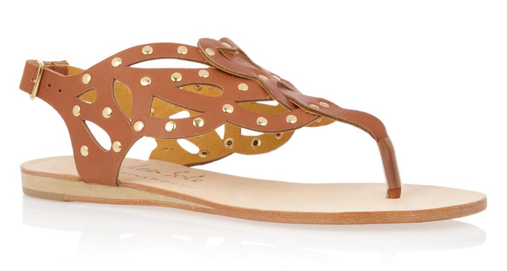 french sole, gladiator sandals, glastonbury