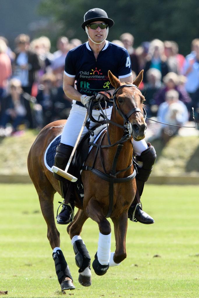 Prince William Polo Match Mia Tindall