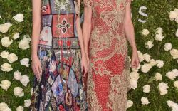 Sandals On the Red Carpet At The Tony Awards