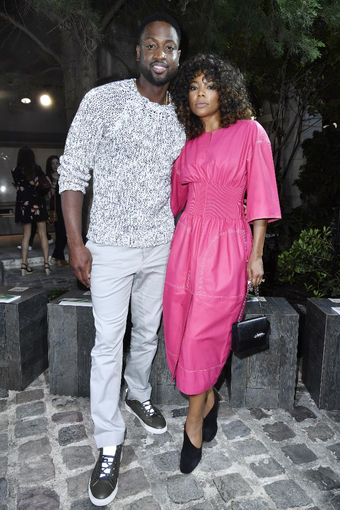 hermes, Gabrielle Union and Dwyane Wade