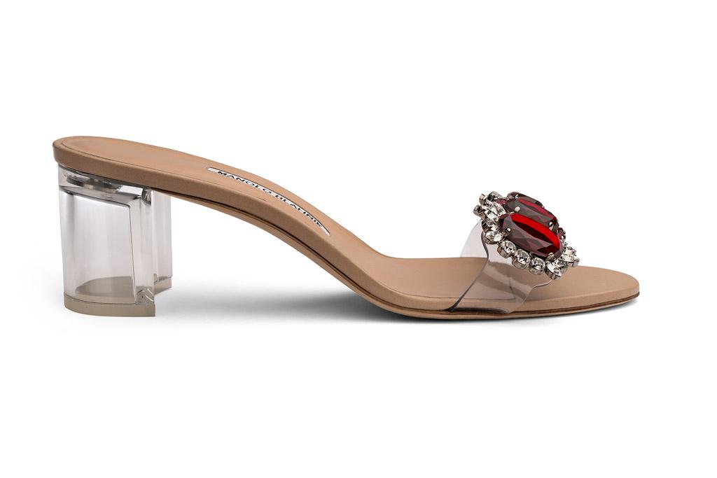Rihanna Manolo Blahnik So Stoned Shoes
