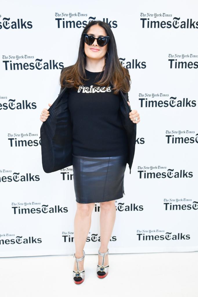 Salma Hayek Gucci Shoes