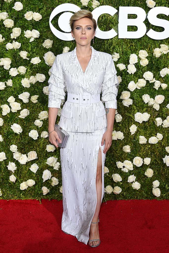 Scarlett Johansson71st Annual Tony Awards, Arrivals, New York, USA - 11 Jun 2017