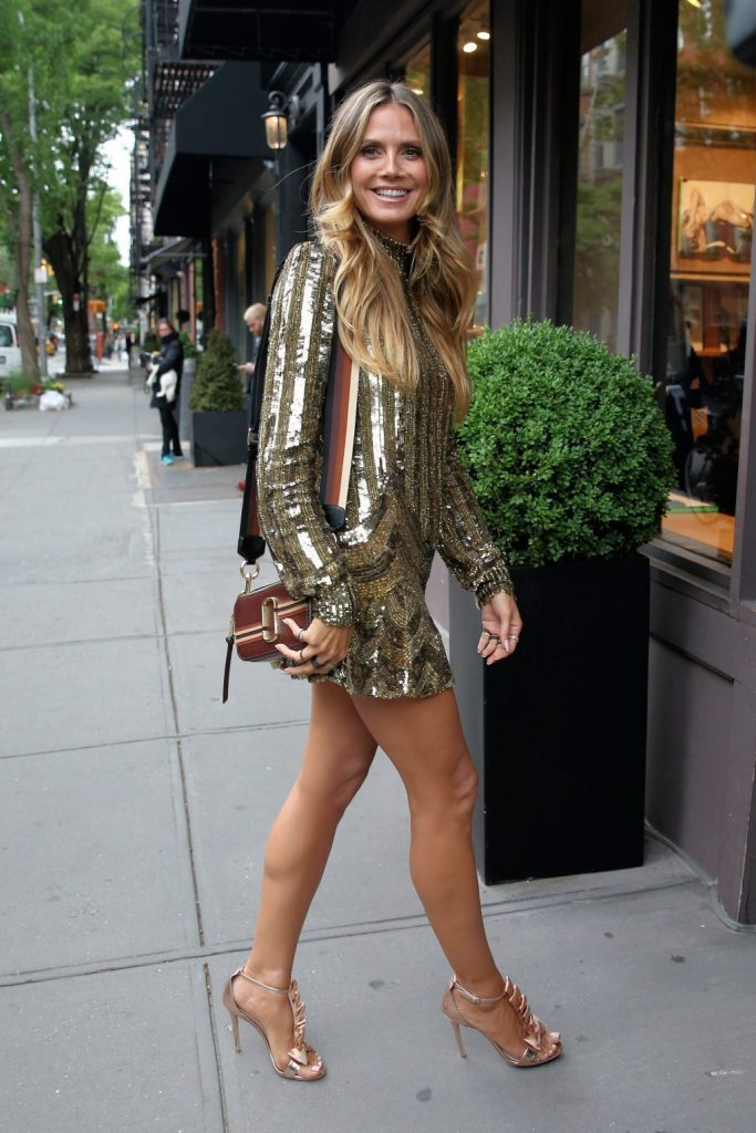 Heidi Klum Olgana Paris Shoes