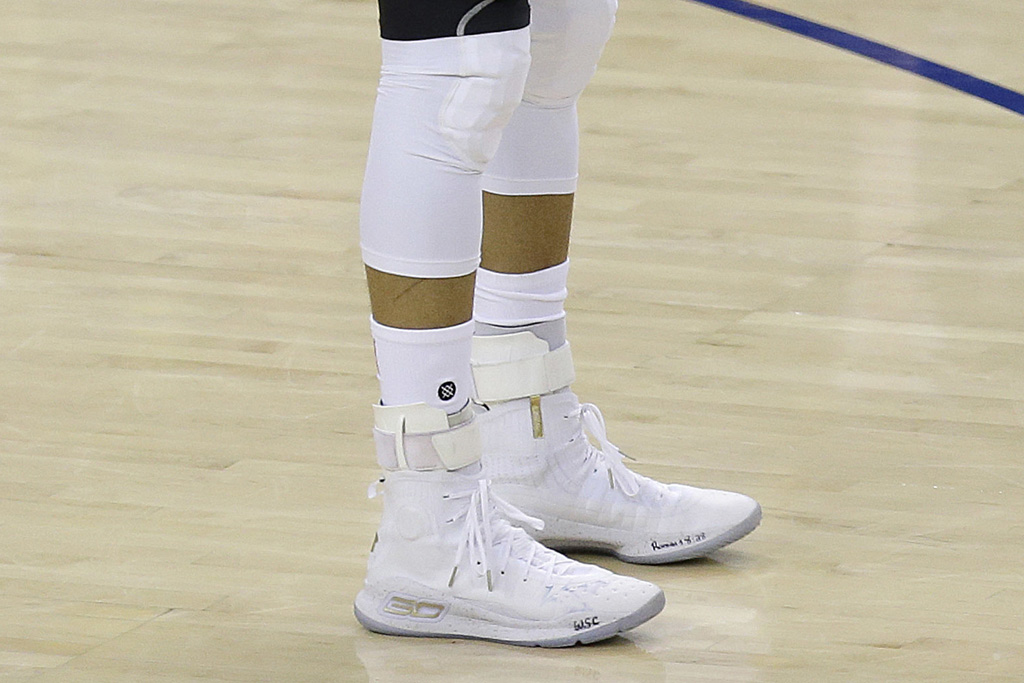 Under Armour Curry 4 Stephen Curry Game 2 2017 NBA Finals