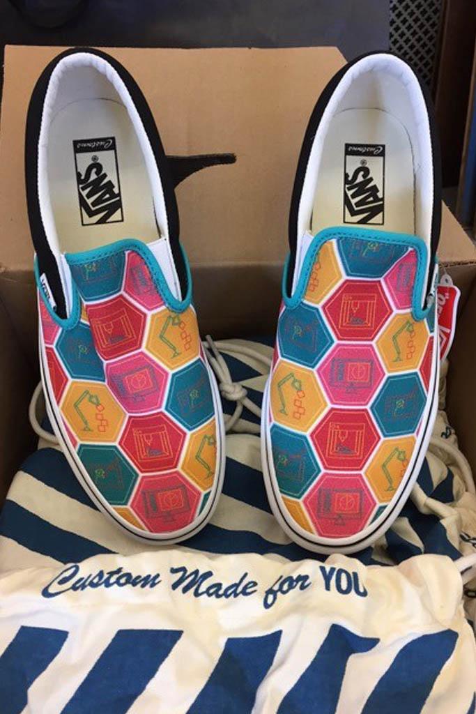 Vans Slip-On Custom Culture Jordan Keller