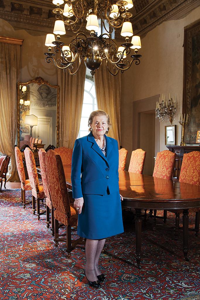 Matriarch of the Ferragamo family, Wanda Ferragamo
