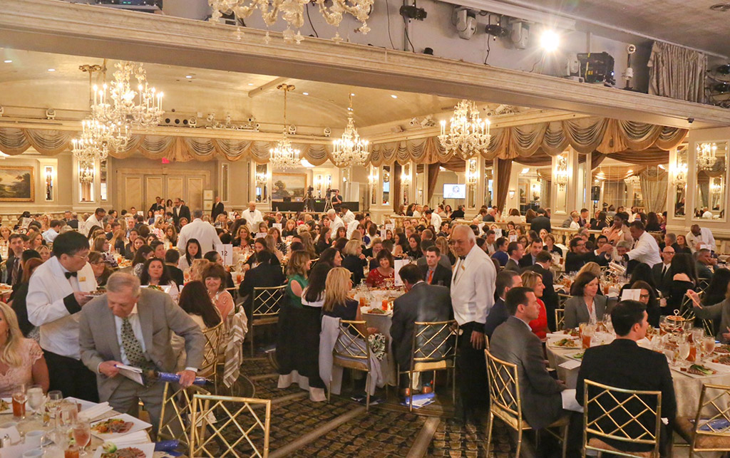 A view of the room at the Pierre Hotel from Delivering Good's Woman of Inspiration Luncheon tracy reese ralph lauren target