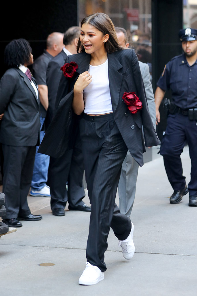 Zendaya, suit