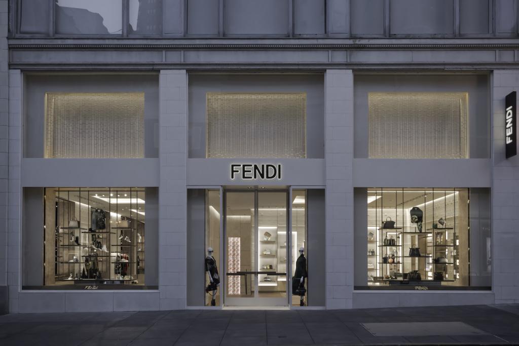 Fendi San Francisco boutique.