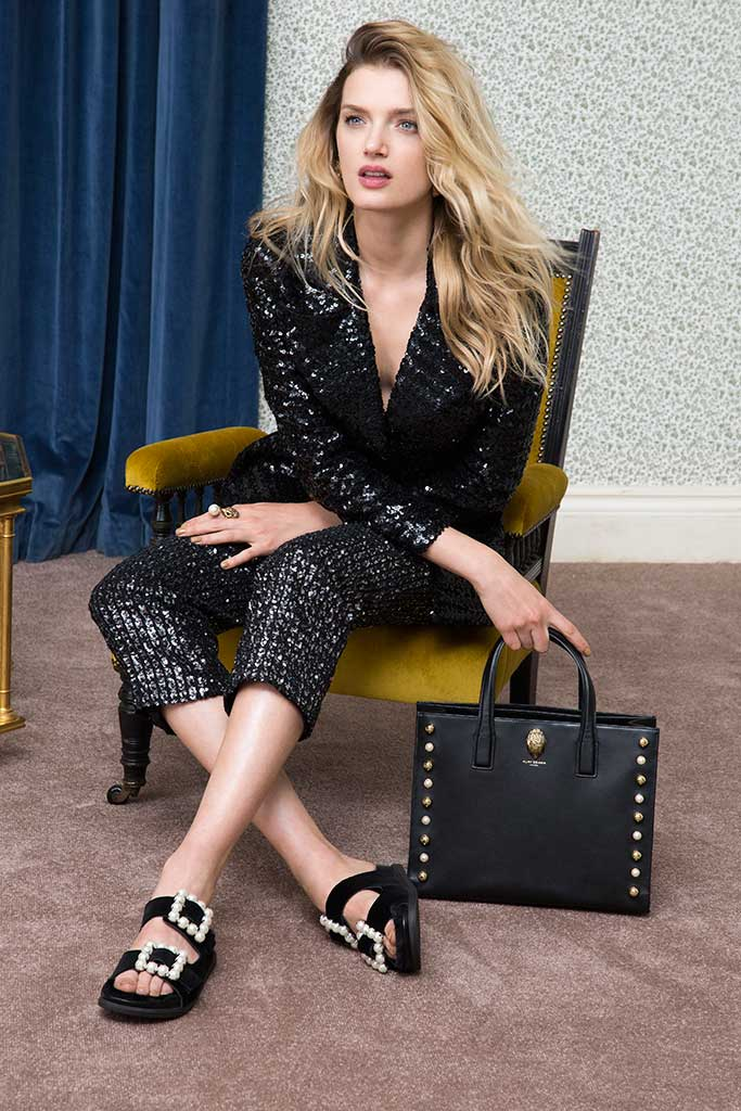An image from Kurt Geiger's fall '17 campaign.
