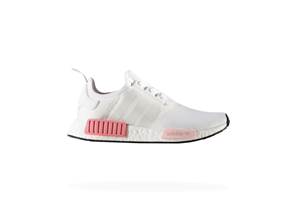 Adidas NMD R1 White Rose Women's
