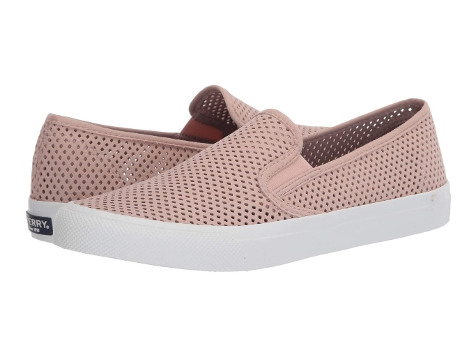 Sperry Seaside Perf Leather Sneaker, sneakers you can wear without socks