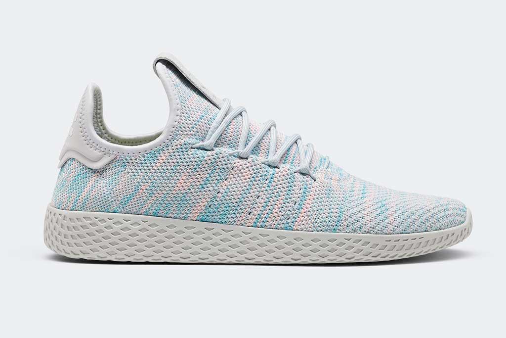 Adidas Originals by Pharrell Williams Tennis Hu style.