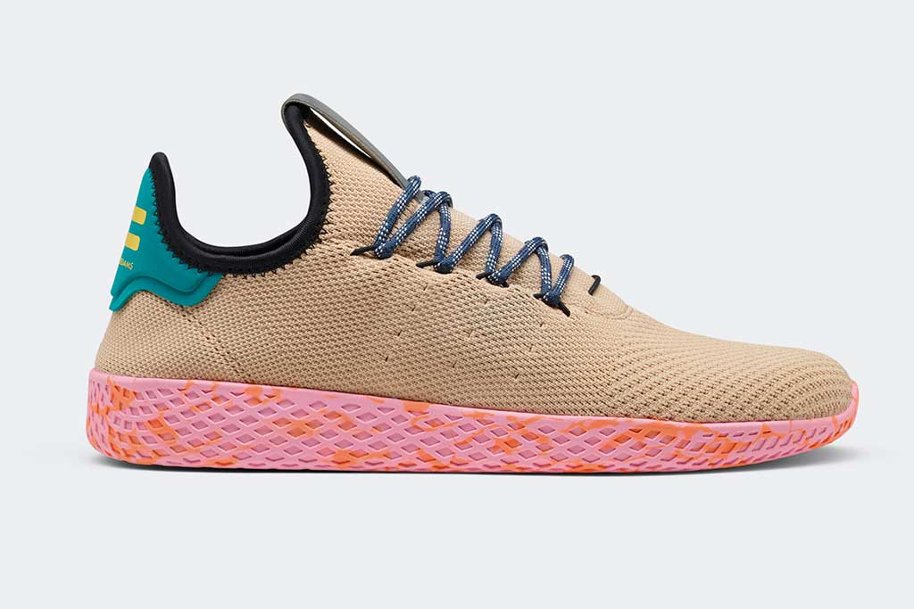 Adidas Originals by Pharrell Williams Tennis Hu style.