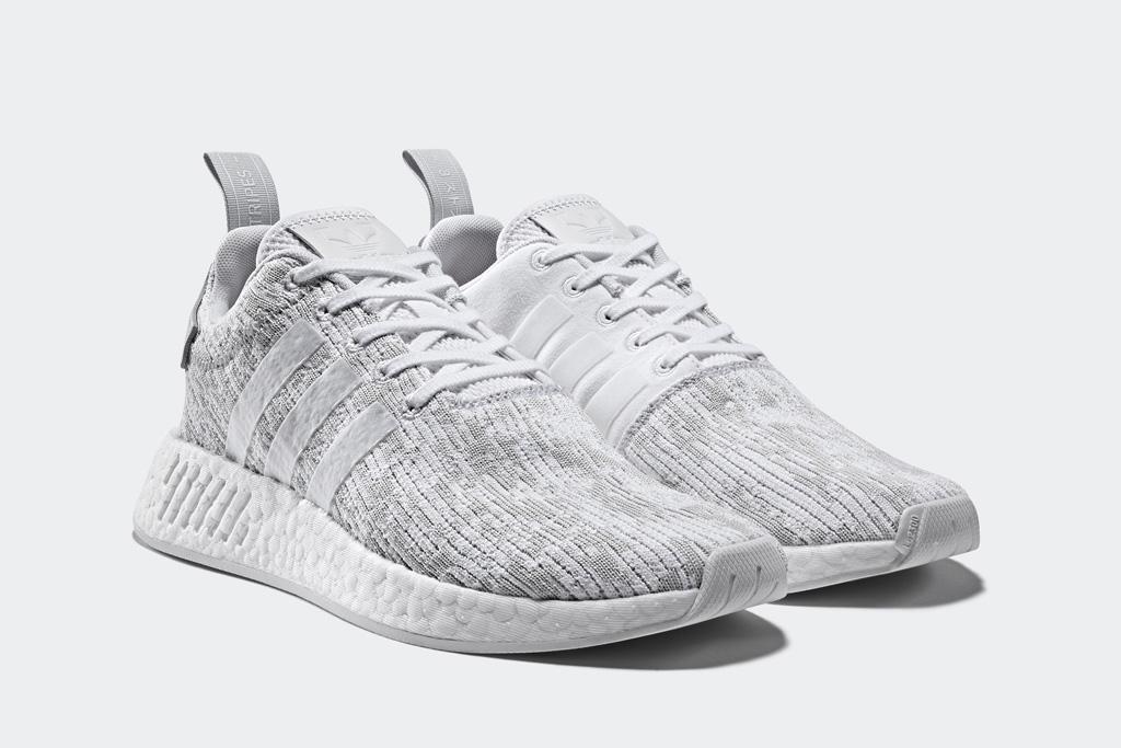 Adidas NMD R2 Footwear White Gray