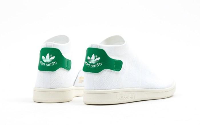 Adidas Stan Smith Shock Primeknit White Green