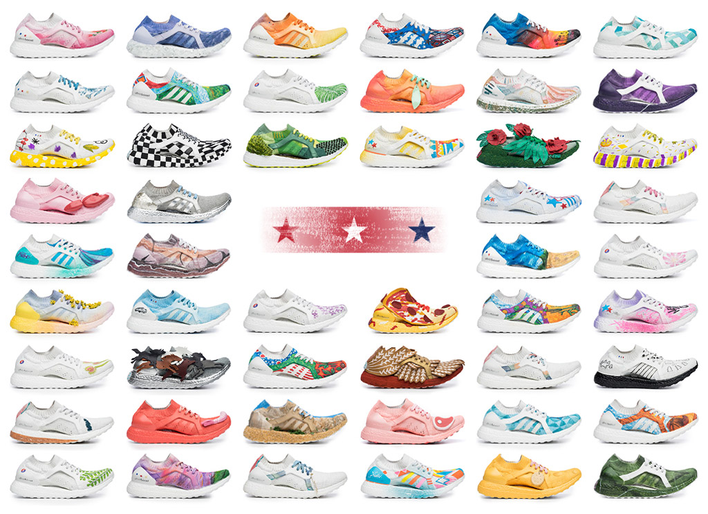 Adidas UltraBoost X 50 states collection
