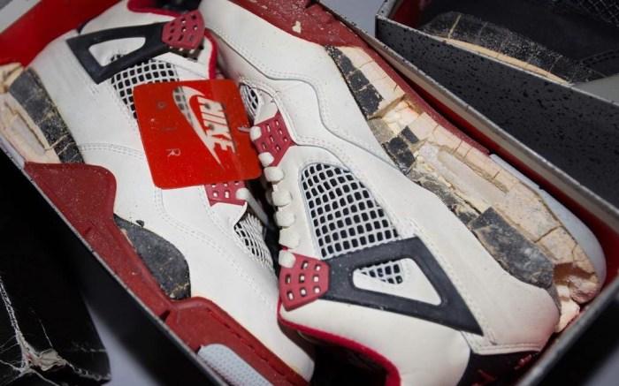 Vintage Air Jordan 4