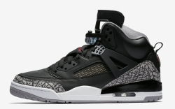 Air Jordan Spizike Black Cement Gray