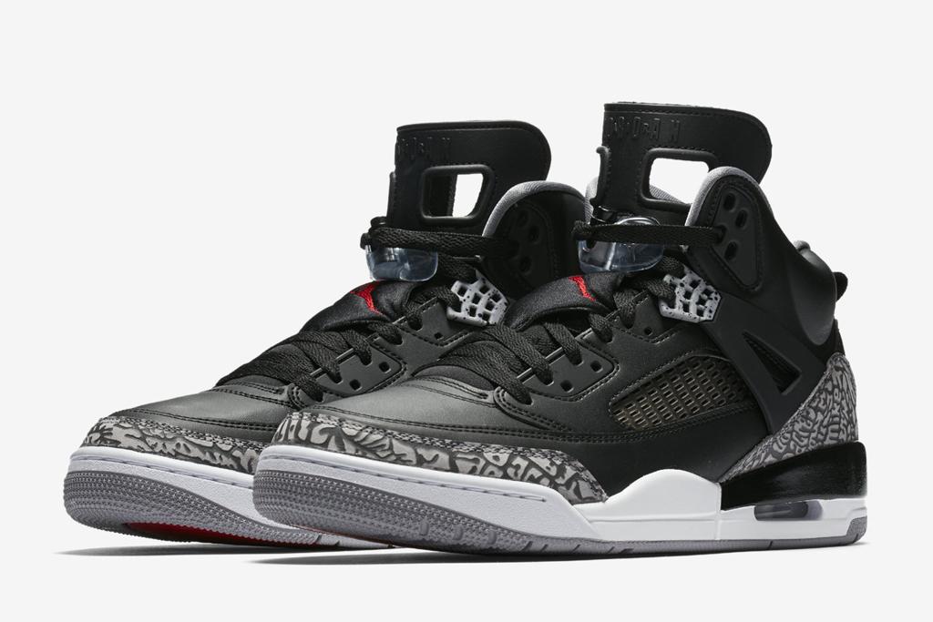 Air Jordan Spizike Black Cement Gray