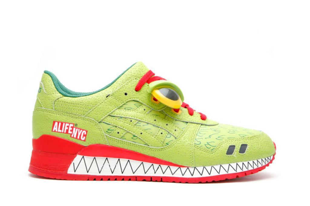 Alife x Asics Gel-Lyte 3 Green Monster