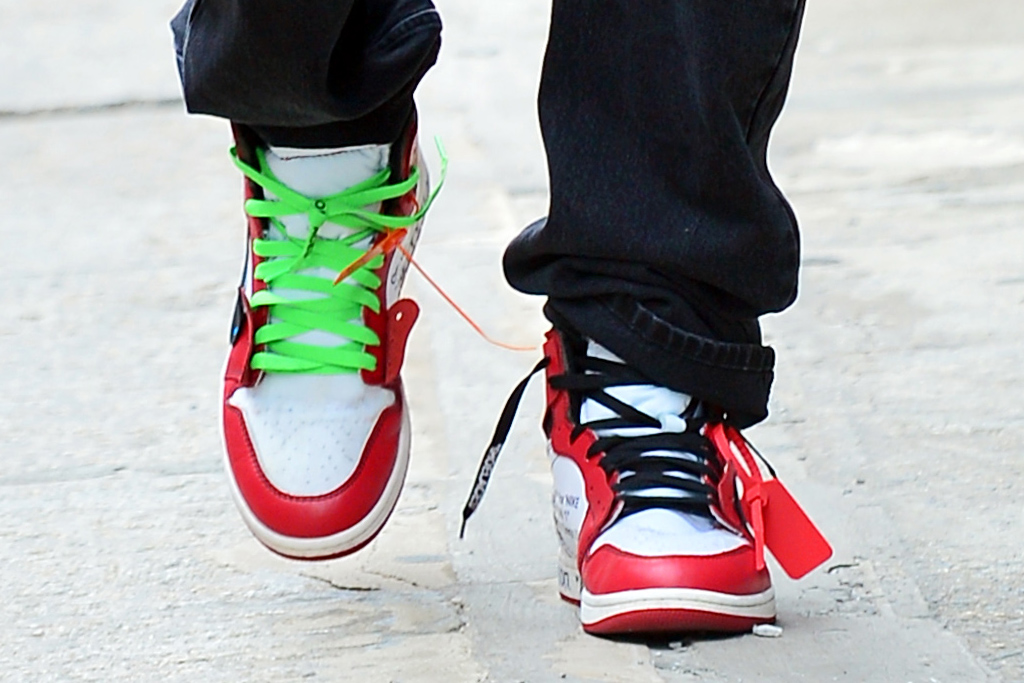 ASAP Rocky Off-White x Air Jordan 1