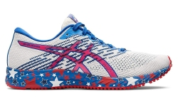 fourth of july sneakers, asics, running