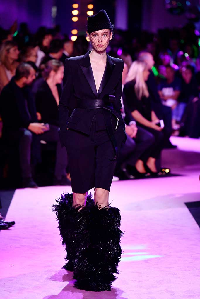 Alexandre Vauthier haute couture fall 2017.