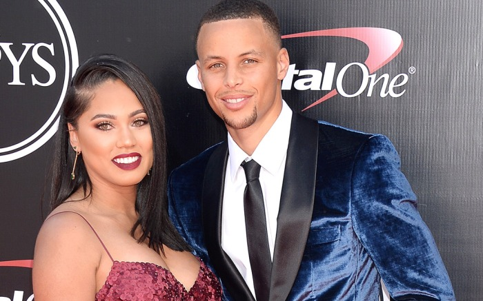 Ayesha & Stephen Curry at the ESPYs