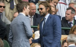 Celebrities At the Wimbledon Men's Finals