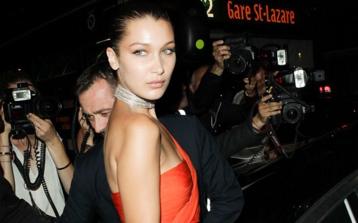 bella hadid paris couture week