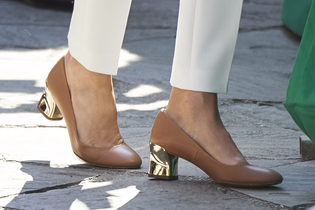 Queen Letizia, shoes
