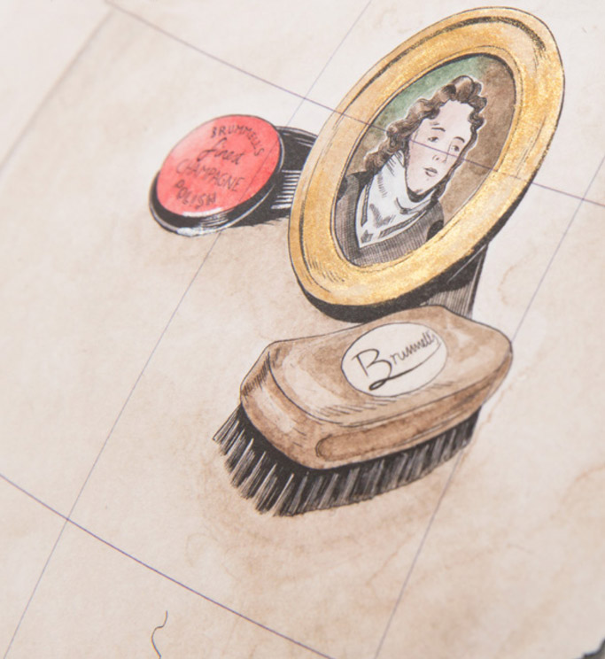 Beau Brummell, royal ascot, champagne, shoes, polish, shine