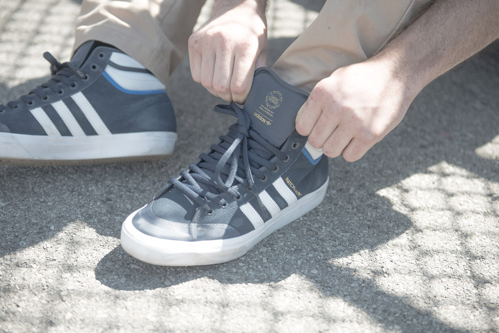 Matchcourt High RX2, adidas, adidas skateboarding, shoes, sneakers