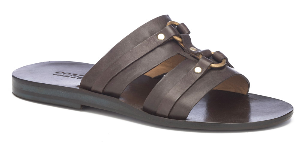 cordero man, calleen cordero, sandal, slide, stud