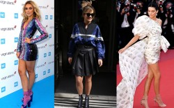 From left to right, Tallia Storm,