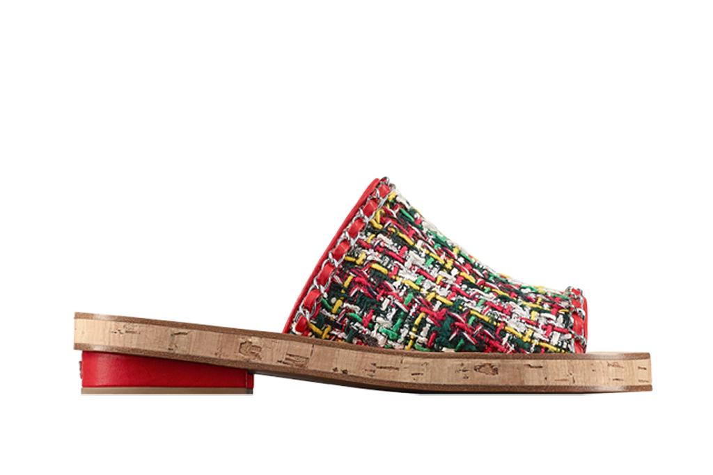 Chanel slide sandal